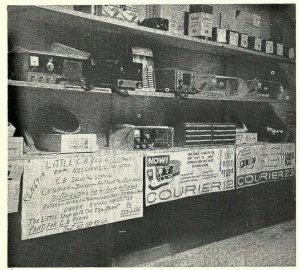 Vintage QSL Postcard  KLN 6919  Nelsonville, Ohio  Richard Hopstetter  -T-