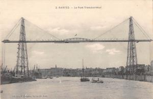 BR78401 nantes le pont transbordeur ship bateaux   france