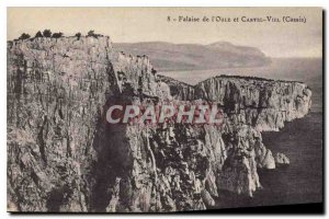 Postcard Ancient Cliff Oule and Viel Castel Cassis