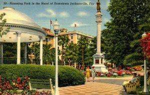 FL - Jacksonville. Hemming Park in Downtown