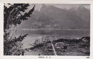 RP; Aerial View of Kalso, British Columbia, Canada, PU-1955