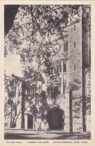 New York Poughkeepsie Vassar College Taylor Hall Albertype