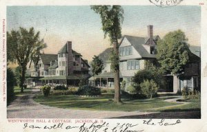 JACKSON , N.H. , 1906 ; Wentworth Hall & cottage