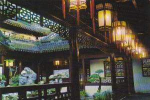 China Tower For Beholding The Moon In The Yu Garden