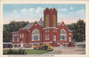 South Waterloo Church Of The Brethren Waterloo Iowa