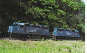Conrail SD-40 Numbers 6288 and 6287 Locomotives