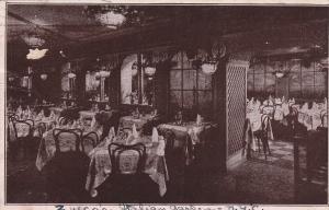 NEW YORK CITY, PU-1925; Zucca's Italian Garden, Interior
