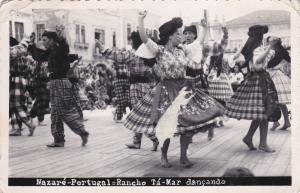 RP; Nazare,Portugal; Rancho Ta-Mar dancando, PU-1957