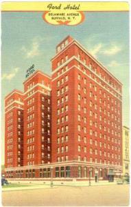 Ford Hotel, Delaware Avenue, Buffalo, New York, Linen