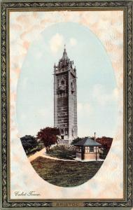 Vintage Postcard Cabot Tower Bristol by Grosvensor Series B No.13G
