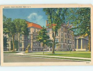 Chipped Linen BUILDINGS AT RUSSELL SAGE COLLEGE Troy New York NY L9390