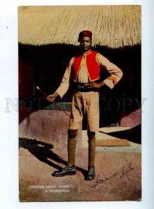 203107 SIERRA LEONE Corporal Mahdi Kabba Vintage TUCK PC