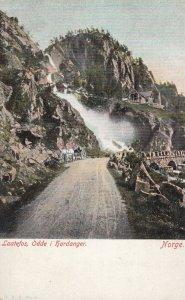 Laatefos , Odde i hardanger , Norway , 1900-10s