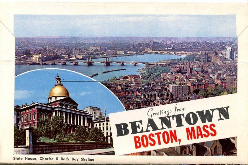 Folder - Massachusetts, Boston. 12 views + covers