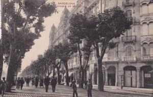 Paseo De Gracia, Barcelona (Catalonia), Spain, 1910-1920s
