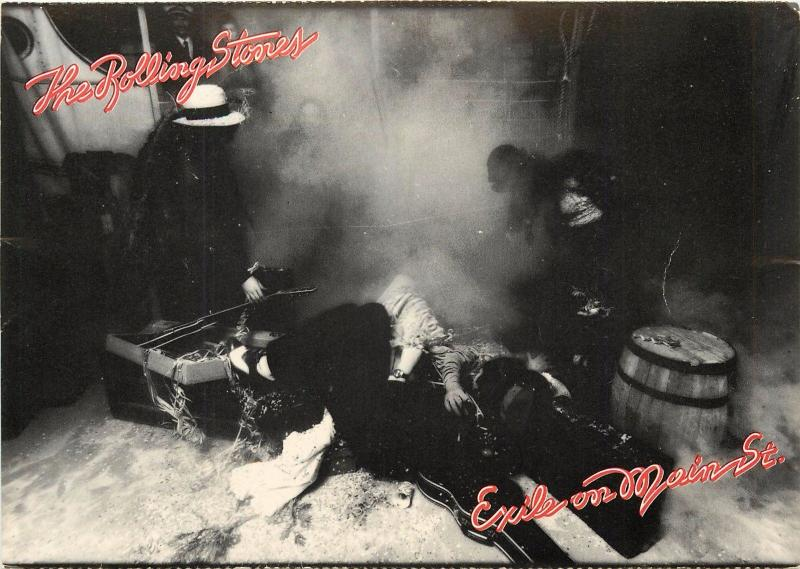 1972 The Rolling Stones Exile on Main St  Scene 10 Band Rock