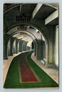 St Paul MN-Minnesota, Balcony Rotunda, St Paul Auditorium, Vintage Postcard