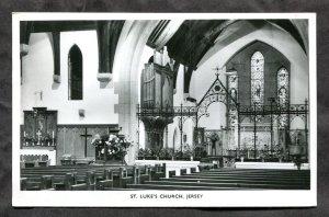 5325 - UK JERSEY 1965 St Luke's Church Interior