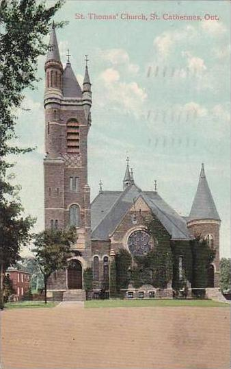 Canada Ontario St Catherines St Thomas' Church 1909