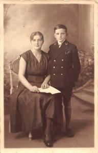 Mother and Handsome Young Boy, Gerondal-Gombert, Marais de Lomme, Lille
