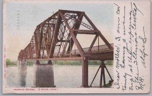 Memphis, Tenn., Memphis Bridge. 2 Miles Long - 1906