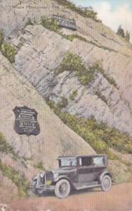 Canada Quebec Site Where Montgomery Fell