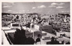 Israel Bethlehem General View Real Photo