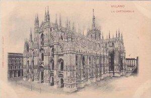 Italy Milano La Cattedrale