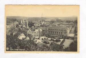 Spa, Belgium PU-1951, Eglise, Casino et Kursaal