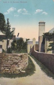Bermuda St Georges Typical Lane