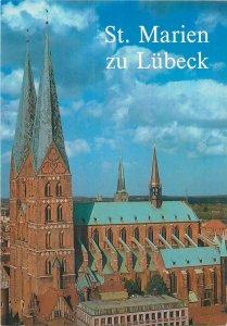 Postcard Germany Lubeck St Marien