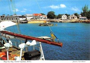 Grand Cayman Islands Post card Old Vintage Antique Postcard Hog Sty Bay Unused