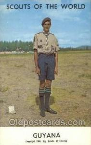 Guyana Boy Scouts of America, Scouting Postcard, Post Cards, Copyright 1968  ...