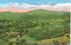 Mount Mitchell from Burnsville, North Carolina, 1920s unu...