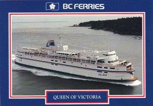 Canada Ferry Queen Of Victoria British Columbia Ferries