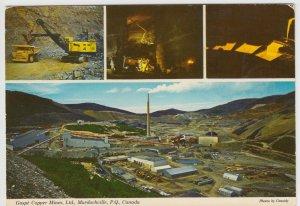 Canada; Gaspe Copper Mines Ltd, Murdochville, Quebec, PPC, Unused, c 1970's