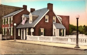 Maryland Frederick Barbara Fricthie's Home Handcolored Albertype