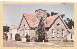 Methodist Church , GREEN COVE SPRINGS , Florida , 50-60s
