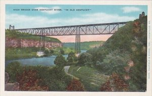 High Bridge Over Kentucky River In Old Kentucky High Bridge Kentucky