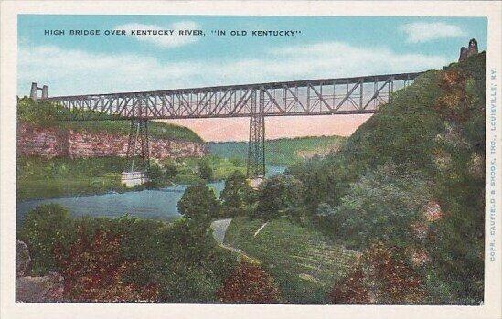 High Bridge Over Kentucky River In Old Kentucky High Bridge Kentucky