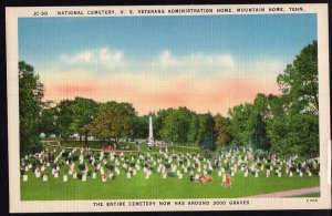 Tennessee ~ National Cemetery U.S. Veterans Administration MOUNTAIN HOME LINEN