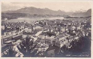 Switzerland Luzern und der Rigi