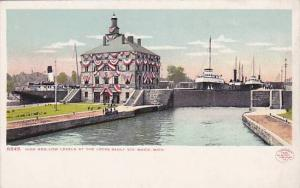 High and low levels at the Locks, Sault Ste, Marie,  Michigan, 00-10s