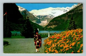 Alberta- Canada, The Piper Chateau Lake Louise, Banff Natl Park Chrome Postcard