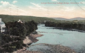 ALLENTOWN , Pennsylvania , 1908 ; Lehigh River from Bridge