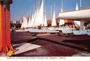 BR99044 preparing for the race portsmouth kingston ontario canada ship bateaux