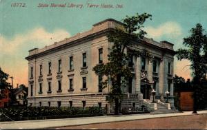 State Normal Library Terre Haute Indiana