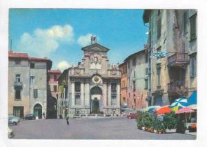 Spoleto , Italy, Pu-1957 Market Place