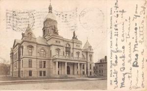 black hawk county court house waterloo iowa L4347 antique postcard