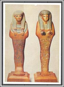 Shawabty Figures of Yuya - Egyptian Dynasty - [MX-131]
